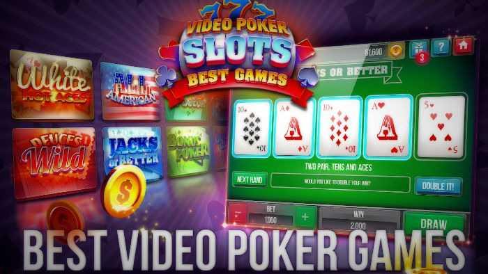 best Video poker slots free